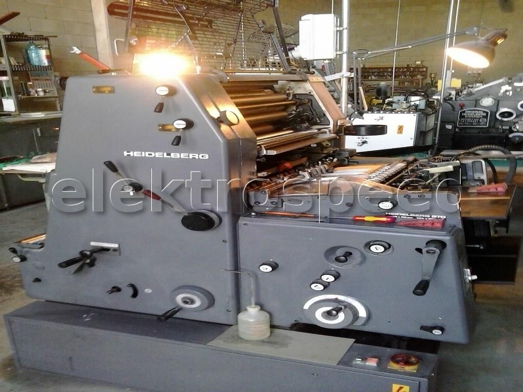 Heidelberg GTO 52+P