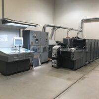 Heidelberg Speedmaster SM 52-4H UV for PVC and Plastic Printing